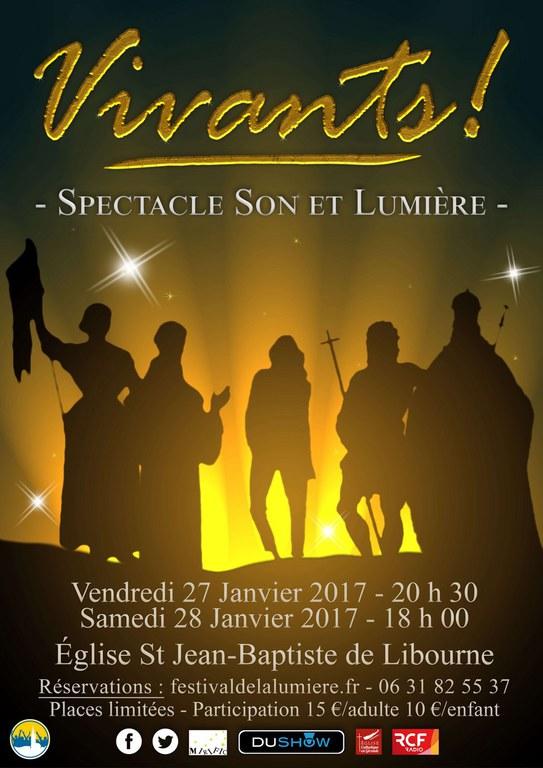 Festival de la lumière 2017 - son et lumière